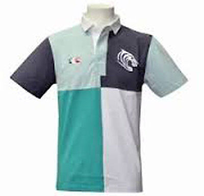 Canterbury Rugby Leicester Tigers Short Sleeved Rugby Shirt - Size Large