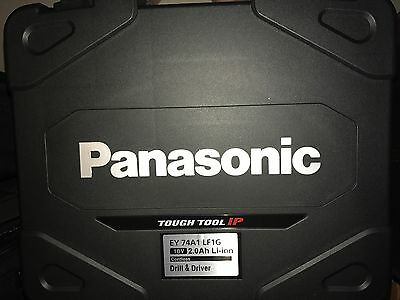 Panasonic Cordless Kit 18V Drill Driver EY74A1 18V battery + charger + Case BNIB