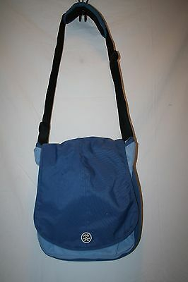 Crumpler Laptop/Messenger Bag-- The Luncheon Model Blue & Black