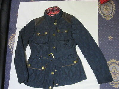 Gorgeous GIRLS QUILTED NEXT BLUE  JACKET COAT AGE  11 - 12 years 152cm