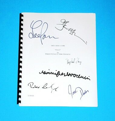 """Once Upon A Time T.v. Script """"pilot""""  60 Pages"""