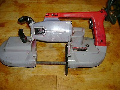 Milwaukee Hand Held Band Saw Cat # 6225 Look