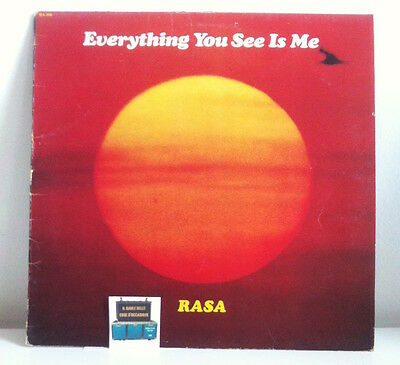 Rasa. Everything You See Is Me. 1979