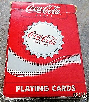 Coca-Cola Deck of Playing Cards In Box 351-R