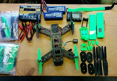 Lumenier QAV250 racing drone and LOTS of extras