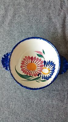 Antique  Quimper  Bowl - Hand Painted - Fully marked.