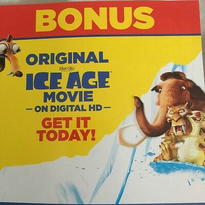 Ice Age Digital Download Code Only