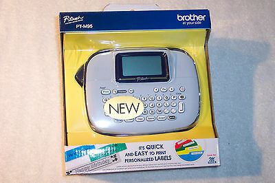 BROTHER P-Touch PT-M95 Label Maker & Starter Tape - New!