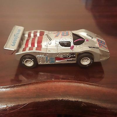 Marchon Tyco Afx Lighted Mercedes silver #78 1991-93 original.