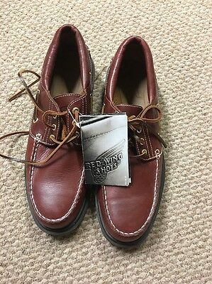 Red Wing Steel Toe Loafer Size 11 D