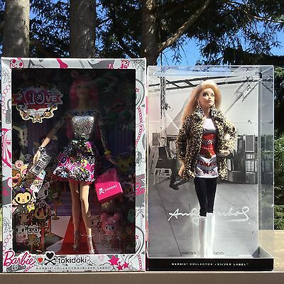 2016 Barbie Andy Warhol Campbell Soup Collector & TOkidoki Collector