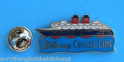 Disney Cruise Line Pin Dcl Ship Sailing The Waves In Profile  Pp# 857