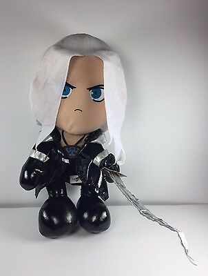 Final Fantasy Plush Doll Sephiroth - Distressed - Stained