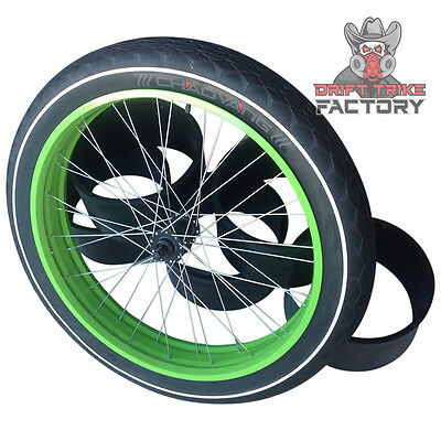 Green Drift Trike Fat Drifter Front Wheel