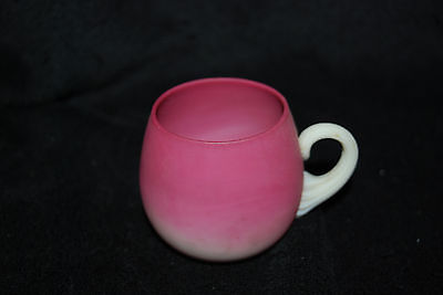 Beautiful Victorian New England Peachblow Punch Cup 1880's