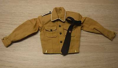 1/6 Scale german 3R J.Grimminger sand shirt&tie (no Dragon,DID,soldier story)
