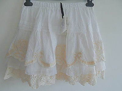 Bnwt Twin-Set Vintage Lace Skirt Age 6 Tag Price £128 More Designers Listed