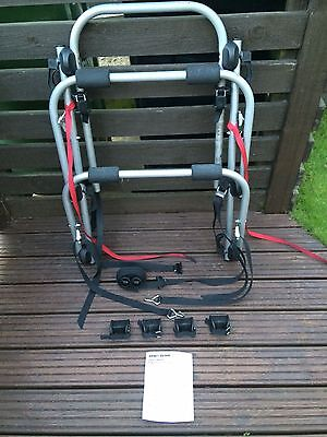 Mont Blanc high mount 3 cycle carrier - hatchback bicycle rack