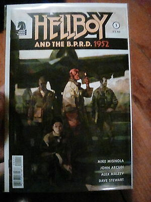 Hellboy And The BPRD 1952 1 Mignola Maleev