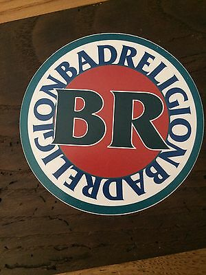 Rare Collectible 90's Bad Religion Sticker Promo Coupon