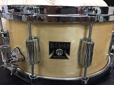 "Tama Limited Edition SuperStar Deep Maple Snare Drum 6.5""x 14"" W/ Tama Case BIN"