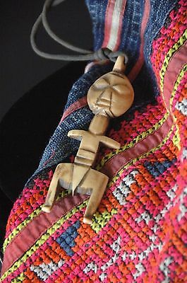 Old Borneo Carved Tribal Neck Piece …beautiful collection item