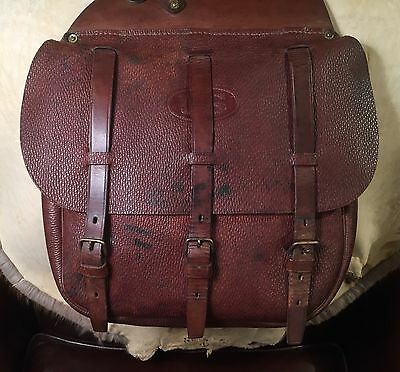 US Army Cavalry Saddlebags Spalding Brothers 1917   WWI
