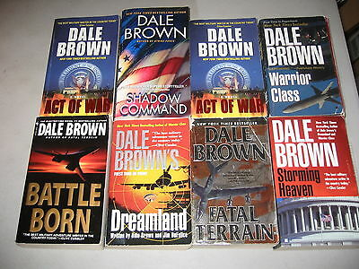 Dale Brown Lot of 7 Military War Novels,  Griffin