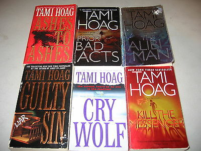 Tami Hoag Lot of 6 Mystery Suspense Thrillers