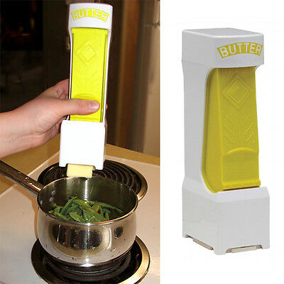Butter Cheese Cutter Slices Slicer One Click Squeeze Serves Stores Kitchen Tools
