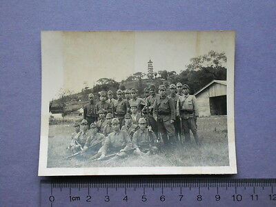 Real Photo - Japanese Soilders in Soochow