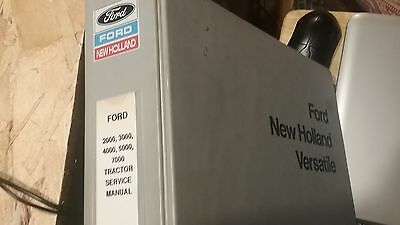 Ford New Holland 2000 3000 5000 7000 Tractor Service  Original Manual