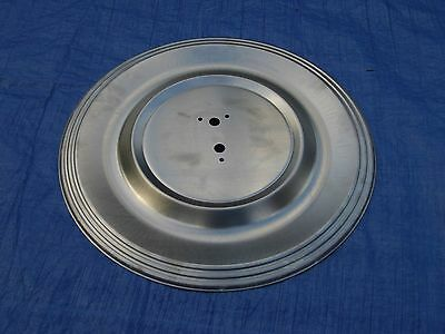 New 1960 Plymouth Flight Sweep Deck Lid Wheelcover Trunk Lid Hubcap