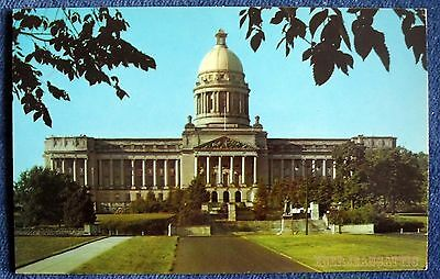 Frankfort Kentucky State Capitol Building  Photo Postcard