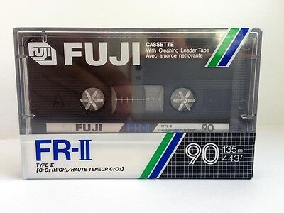 Fuji Fr-Ii 90 Blank Audio Cassette Tape New Rare 1985 Year Japan Made
