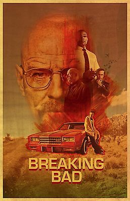 BREAKING BAD  11X17 Movie Poster collectible RARE CLASSIC COLLAGE