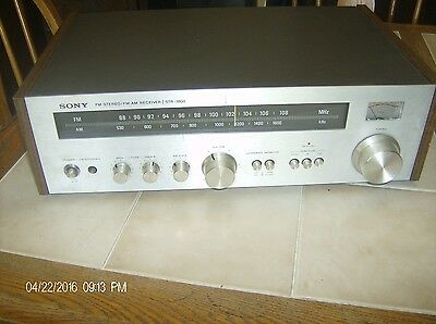 Sony STR-1800 Vintage AM FM Stereo Receiver Phono & Tape INPUTS  Tested & Works