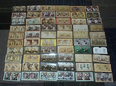 60 Banjo Stereoview Cards Some Very Rare With Stereoview