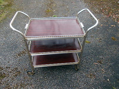 Tea Trolley in very good condition. Top shelf can be removed as a tray.