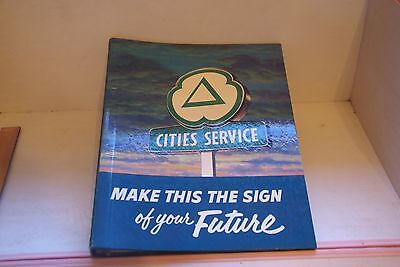 Rare Cities Service Oil Gas Station Franchise & Investor Solicitation Sales Book