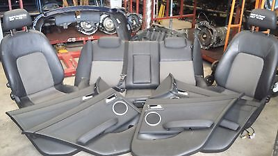 Holden Ve Commodore Calais Wagon 08 Complete Leather Interior Seats & Door Trims