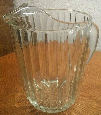 Jeannette Glass National Clear Glass large Water/IcedTea Pitcher