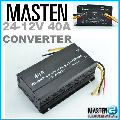 #24V 12V Output Converter 24V to 12V 40A Voltage Power Step-Down Converter