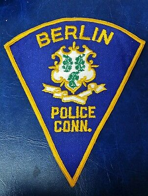 Berlin, Connecticut Police Shoulder Patch Ct