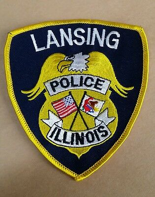 Lansing, Illinois Police Shoulder Patch Il