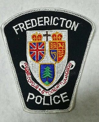 Fredericton, Canada Police Shoulder Patch