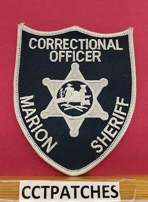 Marion County, West Virginia Correctional Officer Sheriffshoulder Patch Wv