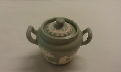 Wedgwood Style Jasperware Lidded Jar