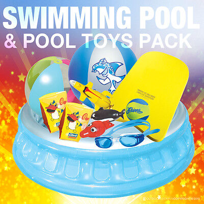 Summer Outdoor Kids Swimming Pool & Toy Pack with Free Delivery