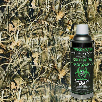 Hydrographic Film Water Transfer Hydro Dip 6Oz. Activator Reeds Camo Kit Dip